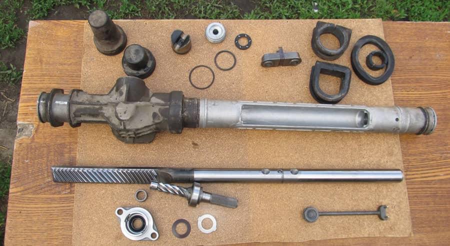 Калина ремонт рулевой рейки своими руками