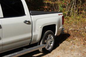 Новая подножка Chevrolet Silverado.