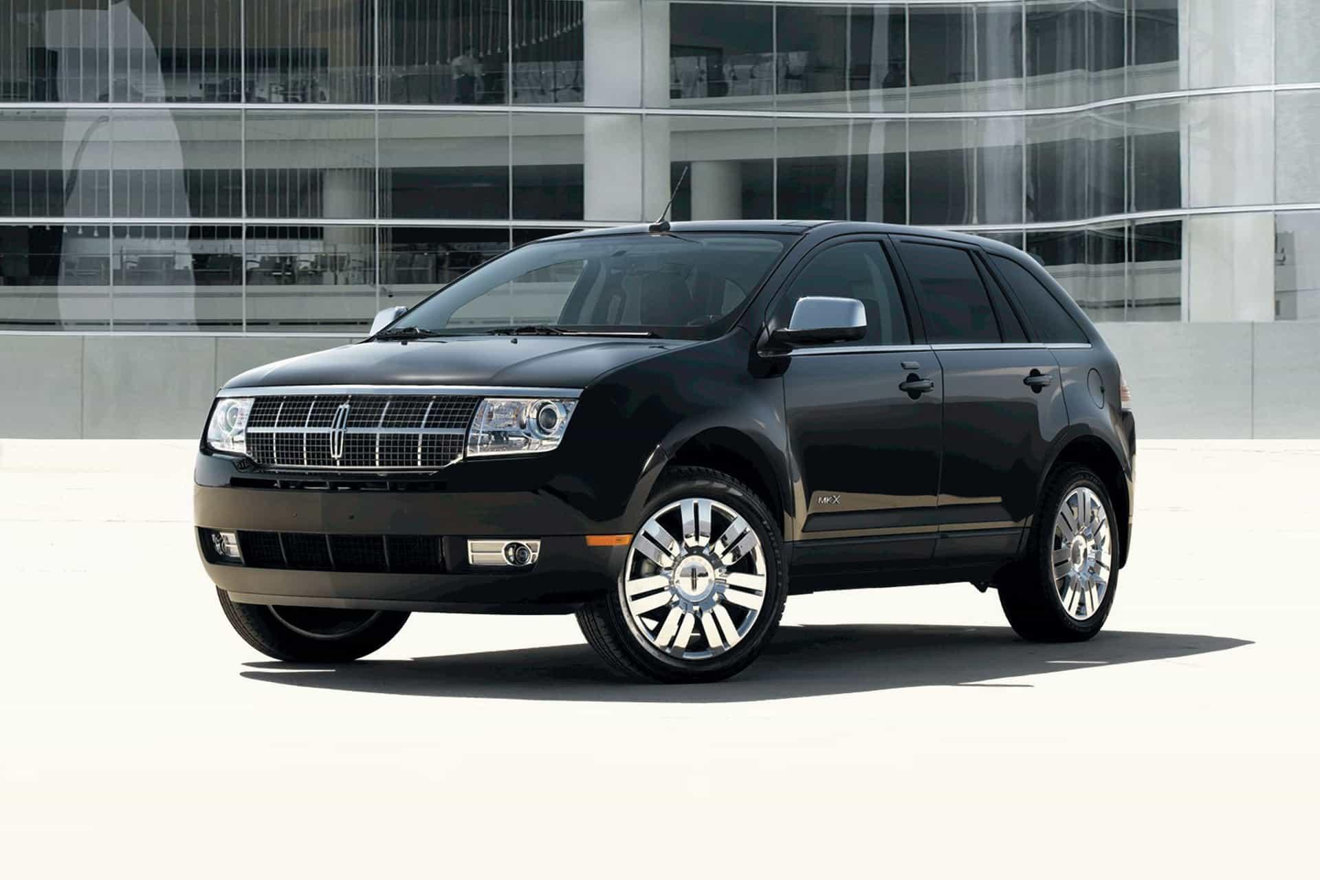 Дефектный Lincoln MKX 2008-2010.