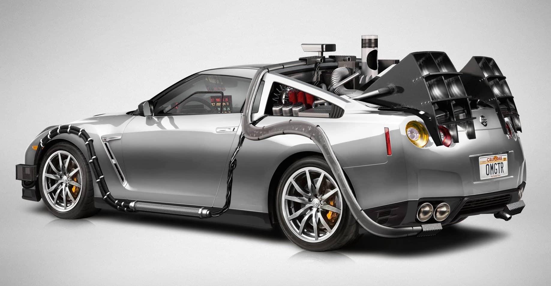 Nissan GTR добро пожаловать в будущее.