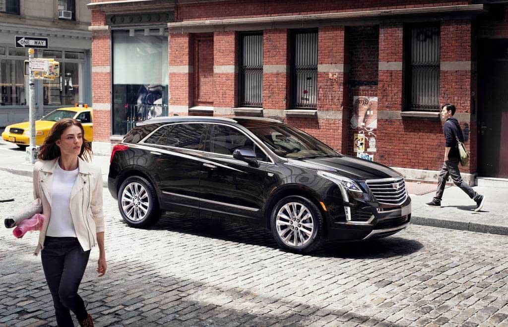 Новый Cadillac XT5 на Лос-Анджелес автошоу 2015.