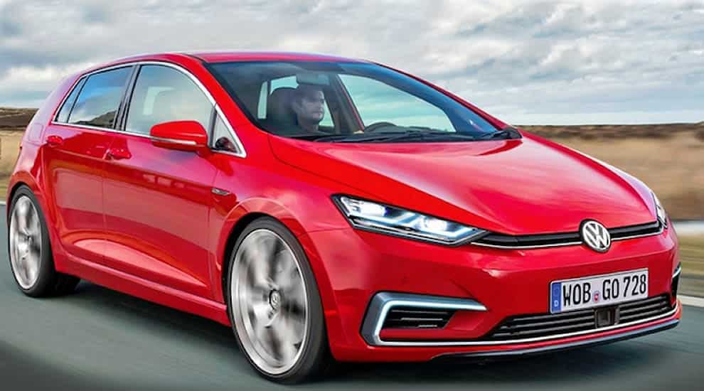Volkswagen Golf новый облик.
