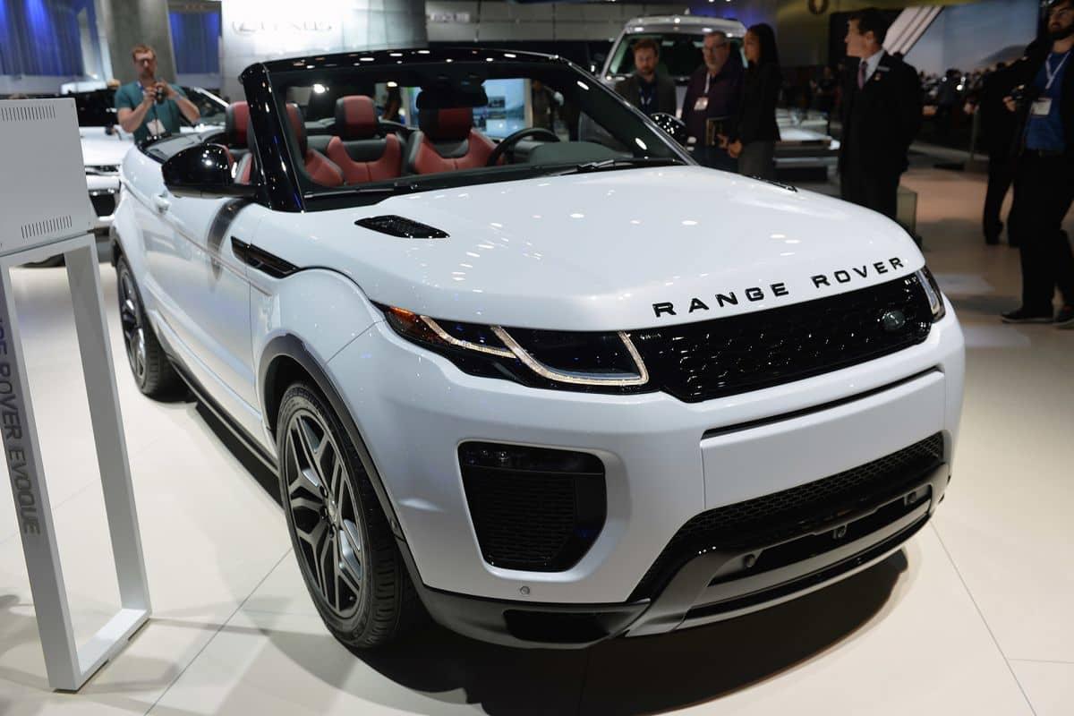 Land Rover Range Rover Evoque Convertible Лос-Анджелес автошоу 2015.