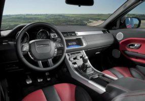 Land Rover Range Rover Evoque Convertible салон.
