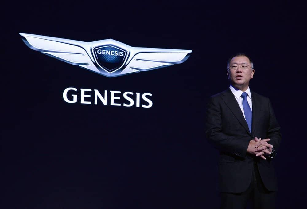 Запуск нового бренда Genesis.