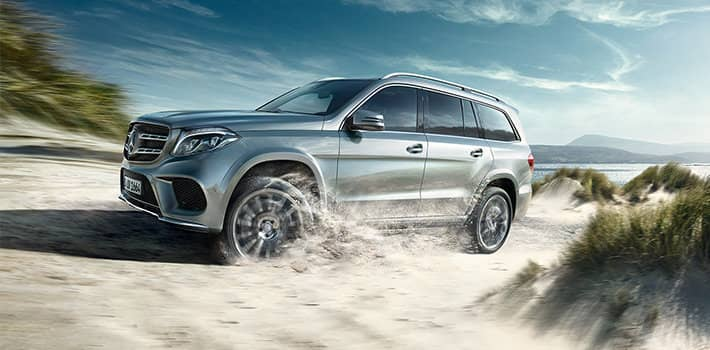 Mercedes benz gls.