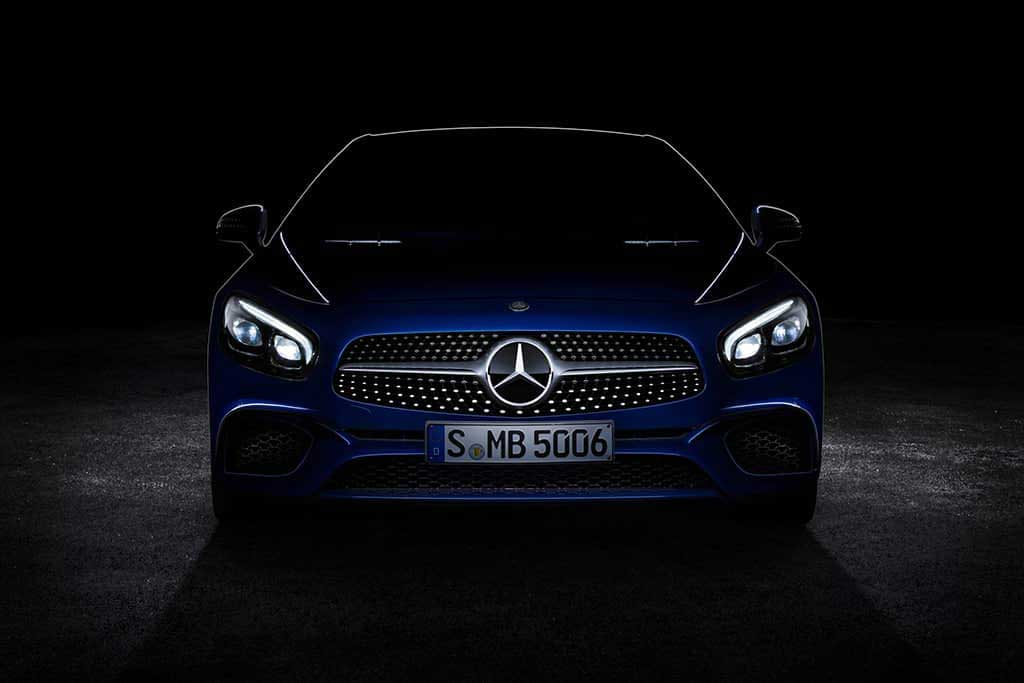 Новый Mercedes-Benz SL 2016.