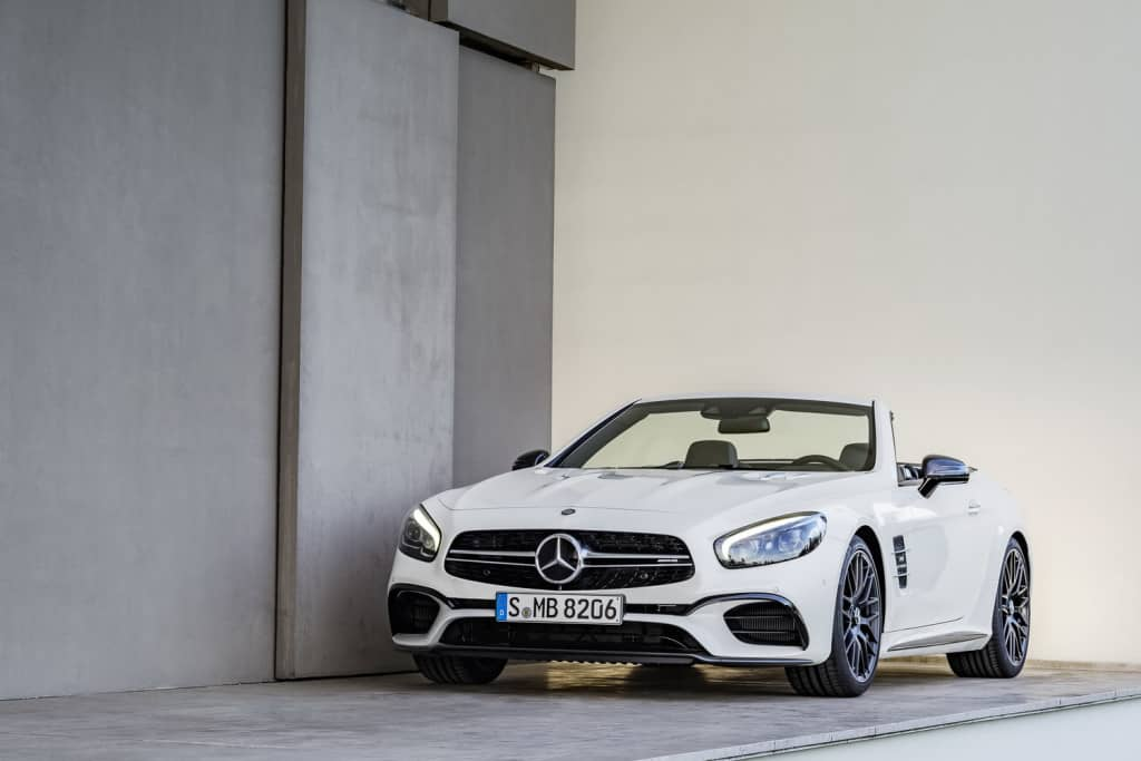 Mercedes-Benz SL ждем в 2016 году.
