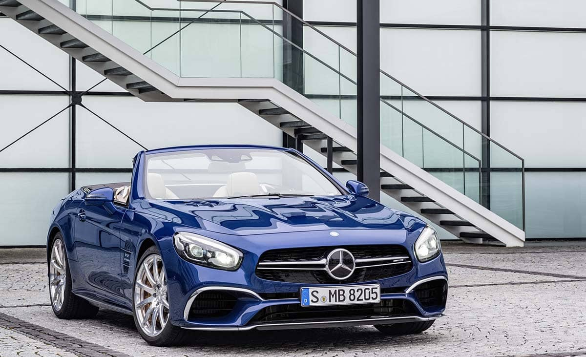 Mercedes-Benz SL Лос-Анджелес автошоу 2015.