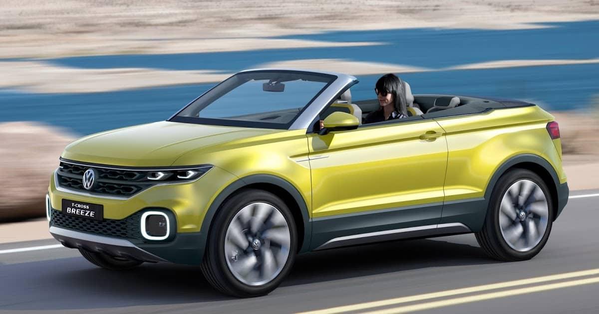 Volkswagen анонсирует небольшой концепцию кроссовера, направляющийся на Женевское автошоу.