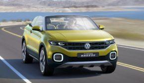 VW собирается открыть серию небольших SUV внедорожников.