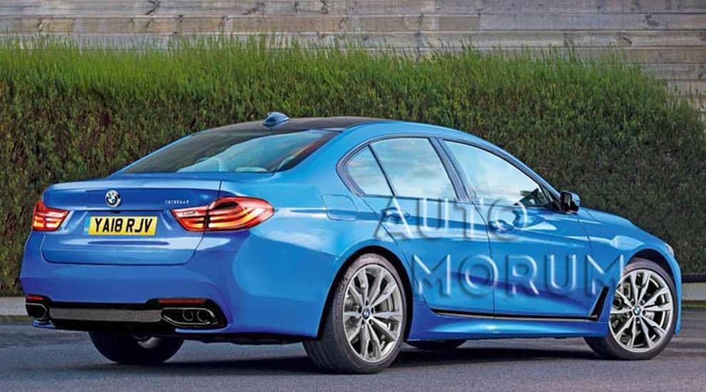 Первые фотографии обновленной BMW 3 серии, вид сзади.