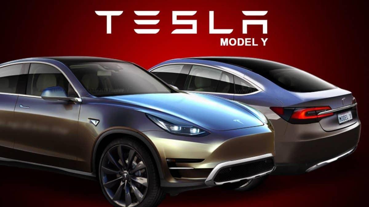 Анонс разработки Model Y.
