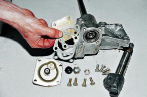 Ремонт рулевого редуктора.
