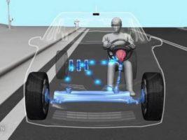 Принцип работы рулевого управления.