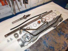 Ремонт рулевой рейки с гидроусилителем.