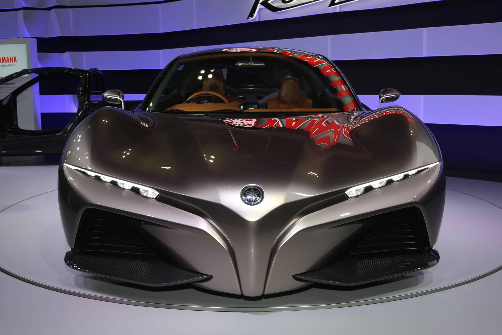 Yamaha концепт спорткара вид спереди