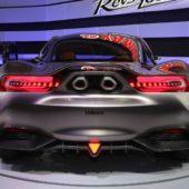 Yamaha концепт спорткара вид сзади