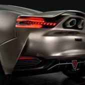 Yamaha концепт спорткара вид фары