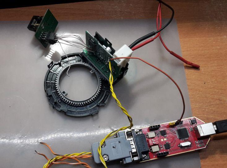 Как выполнить ремонт датчика углового поворота руля.
